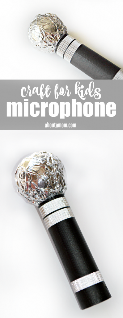 Are you looking for fun indoor activities to go along with family movie time? This fun and super easy microphone craft for kids pairs perfectly with the movie SING and can be made with things you probably already have around the house. Get ready for some fun karaoke at home with the kids!