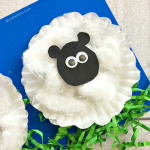 Young children will love this simple sheep craft that uses cupcake liners, cotton balls, Easter grass, and some basic craft supplies. This activity is perfect for spring, and the end result is a cute and fluffy farm animal. It is also a great activity for Shaun the Sheep fans!
