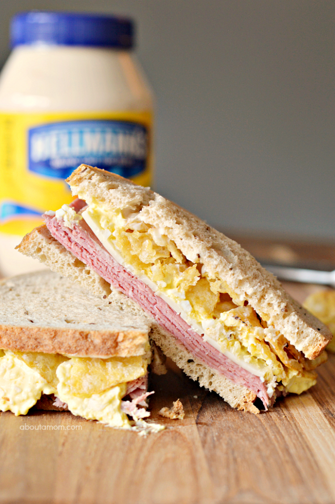 This corned beef and egg salad sandwich recipe might seem a little strange, but it's often the unusual combinations that taste amazing.