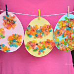 Fruity Pebbles Easter Eggs Craft for Kids