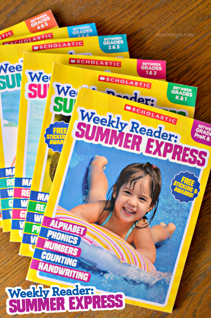 Prevent summer learning loss with Scholastic Weekly Reader: Summer Express workbooks. The curriculum-based pages help reinforce vocabulary, grammar, writing, reading, math skills, and more so you won't have to worry about summer slide.