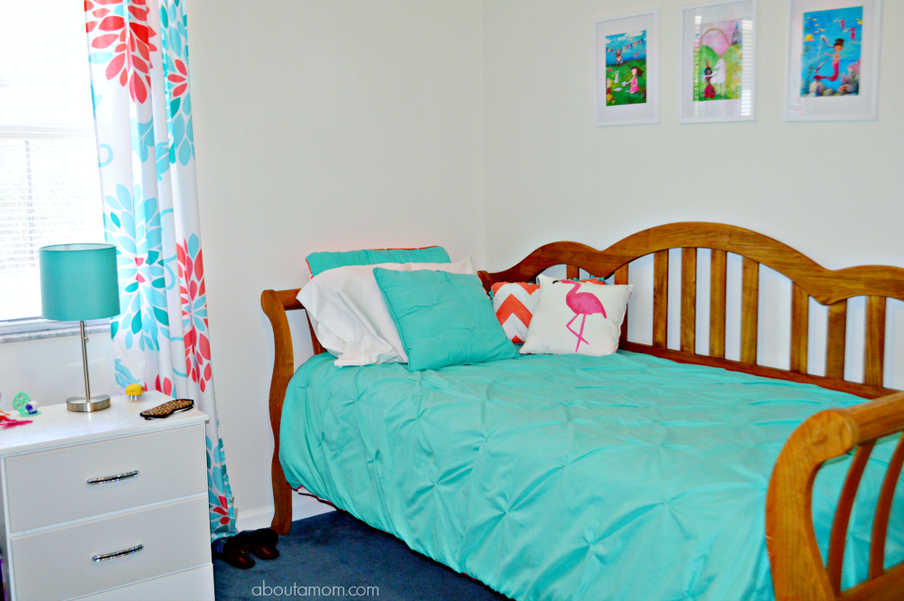 Children's bedroom ideas and easy ways to update a child's bedroom and bath on a budget.