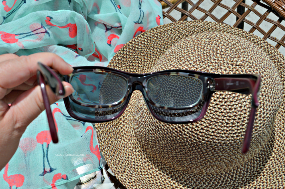 Solar Shield sunglasses are chic, stylish fits over sunwear that are to worn directly over eyeglasses. People won't even know that you're wearing eyeglasses underneath. Such a great alternative to prescription sunglasses!