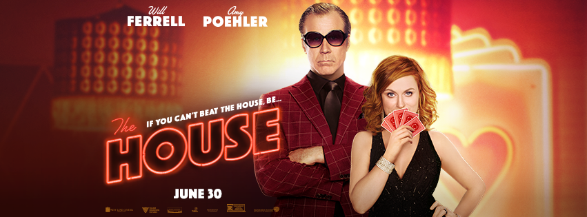 How far would you go to pay for your child's college education? Scott and Kate Johansen (Will Ferrell and Amy Poehler) take extreme measures in the hilarious new movie THE HOUSE - In theaters June 30.