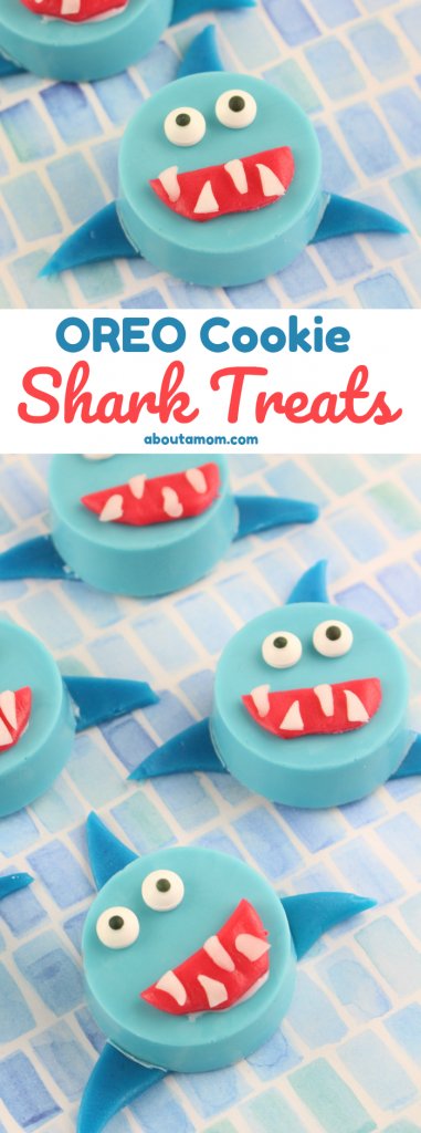 OREO Cookie Shark Treats - Perfect for Shark Week!