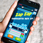 Zap Zap Kindergarten Math app will help kid ages 3-6 learn math through fun games that mirror the U.S. Common Core syllabus. It is a fun and effective math learning tool.