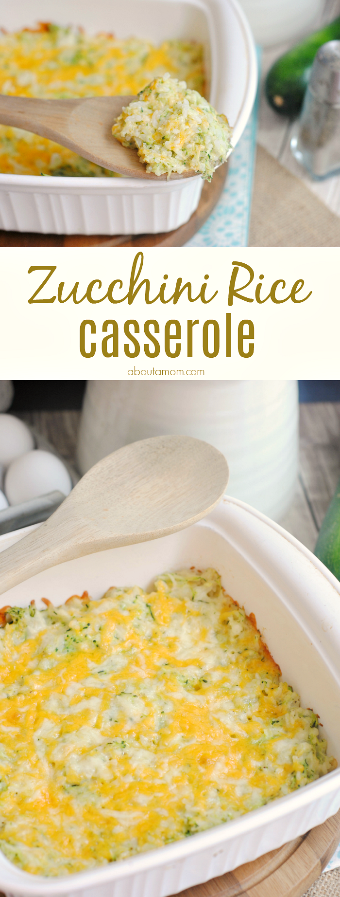 Perfect as a side dish or standalone vegetarian meal, this zucchini rice casserole recipe is cheesy, comforting and filling.