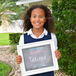 Make back to school memorable. Take pictures to document your child's first day of school using this free first day of school sign printable.