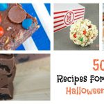 Use up leftover candy bars, candy corn, Skittles and more with these 50 recipes for leftover Halloween candy.