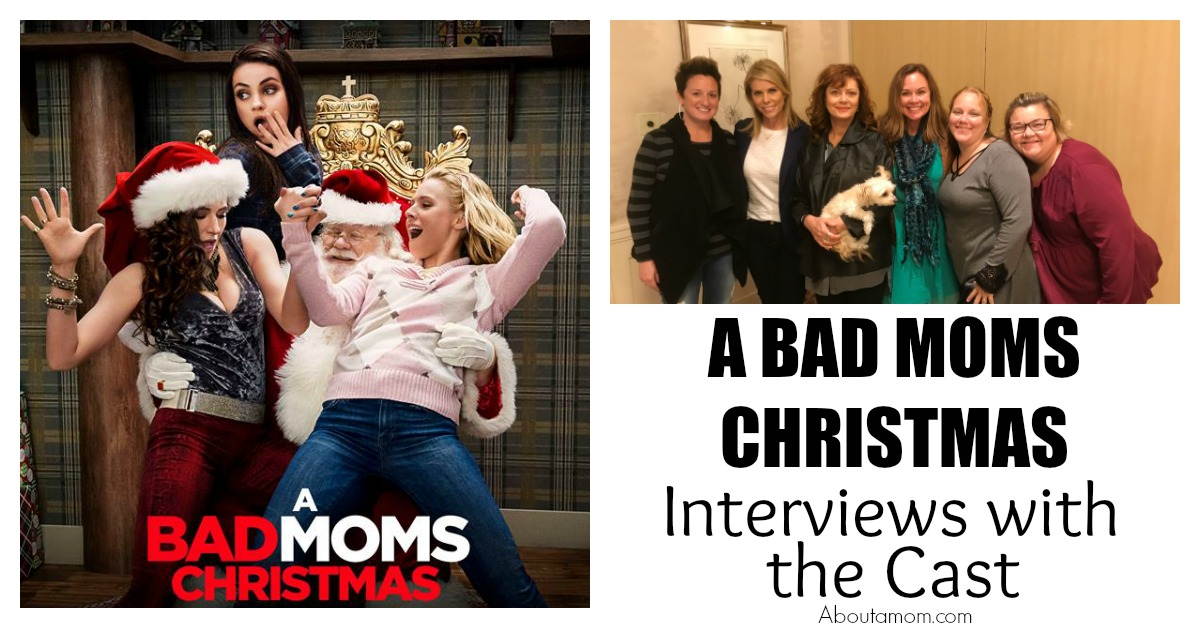 A Bad Moms Christmas Movie.A Bad Moms Christmas With The Cast About A Mom