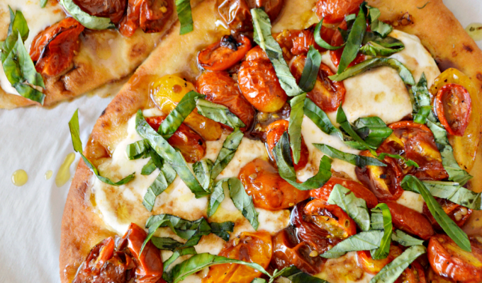 Caprese Flatbread Pizza