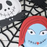 Simple Jack and Sally Halloween Craft