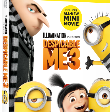 Despicable Me 3 Special Edition is available on Digital November 21st. Also, available on Blu-ray and DVD on December 5th.