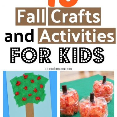 Fall is here and the weather is cooler. Looking for Fall activities for kids? Here are 48 Fall crafts and activities that kids will love.