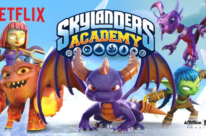 Season 2 of the hit animated Netflix Original Series Skylanders Academy premieres Friday, October 6th.