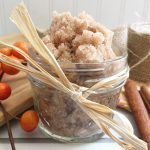 Celebrate the autumn season. Treat yourself to DIY spa treatment with this homemade pumpkin spice sugar scrub.
