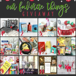 Favorite Things Holiday Giveaway 2017