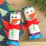 Snowman Granola Bar Covers