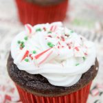 Holiday Peppermint Cupcake Recipe