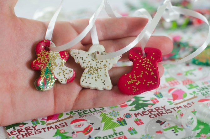 want to create clay christmas ornaments it is easy to make your own ornaments and - How To Make Your Own Christmas Decorations