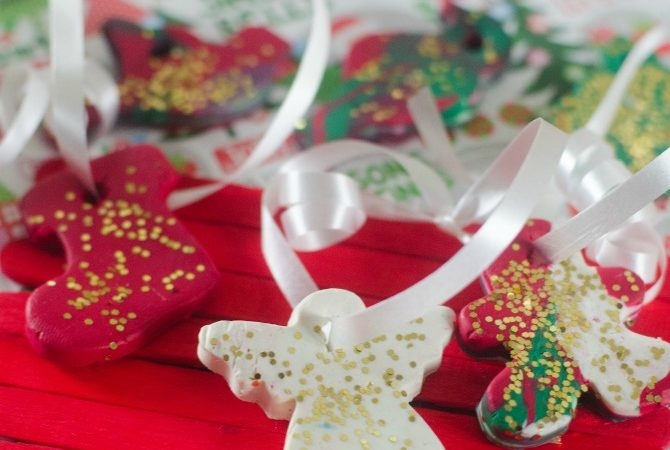 Want to create clay Christmas ornaments? It is easy to make your own ornaments and kids will love seeing their clay Christmas ornaments on the tree.