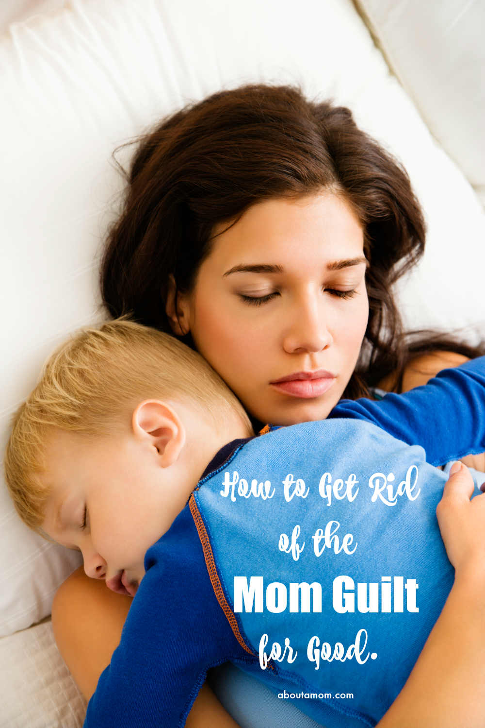 Moms are always ridiculing themselves for everything. Dinner wasn't good enough. Maybe you spend too much money at the grocery store. Here's how to give yourself a break and let go of the mom guilt for good.