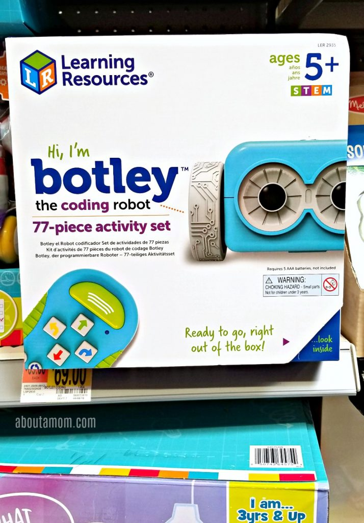 Teach kids to code with Botley the Coding Robot. Learning Resources Botley is simple, but engaging, and is a great hands-on way for your children to develop the thinking needed to become a programmer.
