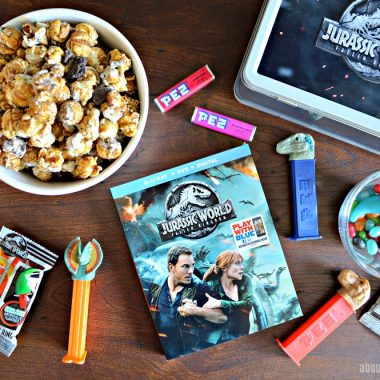 Family movie night fun. Jurassic World: Fallen Kingdom on Blu-ray is available in stores now. Get inspiration for a dinosaur themed Jurassic World movie night that the whole family will enjoy.
