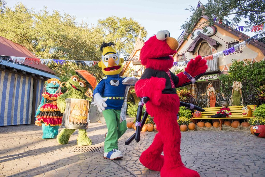 Busch Gardens® Tampa Bay welcomes back Sesame Street Kids' Weekends this October with Halloween fun each Saturday and Sunday in October. New this year, families can tune into the Not-Too-Spooky Howl-O-Ween Radio Show, debuting at the park on Saturday, October 6 starring Count von Count. Sesame Street Kids' Weekends are included with daily admission to Busch Gardens Tampa Bay. Children are welcome to wear Halloween costumes and enjoy weekends jam-packed with fun fall activities.