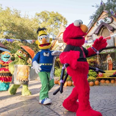 Busch Gardens® Tampa Bay welcomes back Sesame Street® Kids' Weekends this October with Halloween fun each Saturday and Sunday in October. New this year, families can tune into the Not-Too-Spooky Howl-O-Ween Radio Show, debuting at the park on Saturday, October 6 starring Count von Count. Sesame Street Kids' Weekends are included with daily admission to Busch Gardens Tampa Bay. Children are welcome to wear Halloween costumes and enjoy weekends jam-packed with fun fall activities.