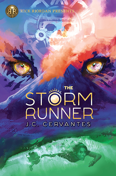 A Storm Runner Novel, Book 1 by J.C. Cervantes is published by Rick Riordan Presents, an imprint of Disney Book Group. This brand new book recommended for ages 10-14 is in stores now.