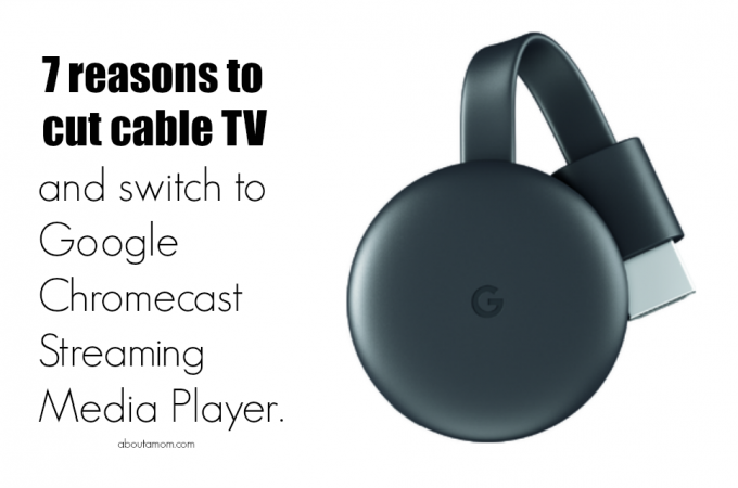 Looking to cut cable TV? Cable television is expensive but luckily there are some good alternatives to cable. Consider the many benefits of Google Chromecast Streaming Media Player available at Best Buy.
