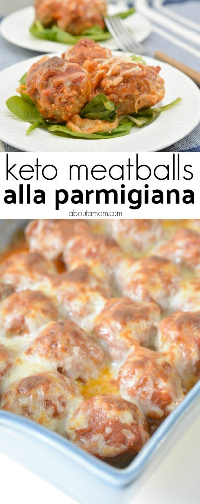 This Keto meatballs alla parmigiana recipe is perfect for individuals on a low carb or ketogenic diet. The Italian style low carb meatballs are juicy, tender and just so easy to make. Make this keto meatballs recipe as an appetizer or a main course.