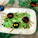 These classic OREO spider cookies are creepy, but not too creepy. A Halloween treat that is a lot of fun for kids to make and eat.