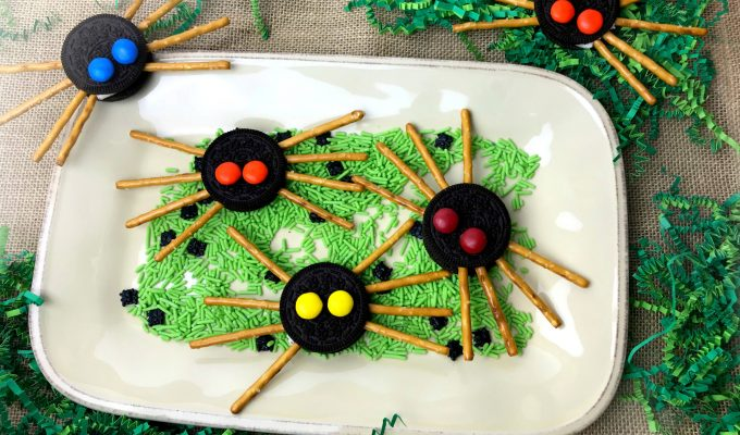 Classic Oreo Spider Cookies