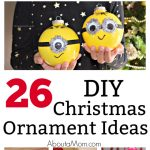 Handmade ornaments are also great for holiday gift giving.