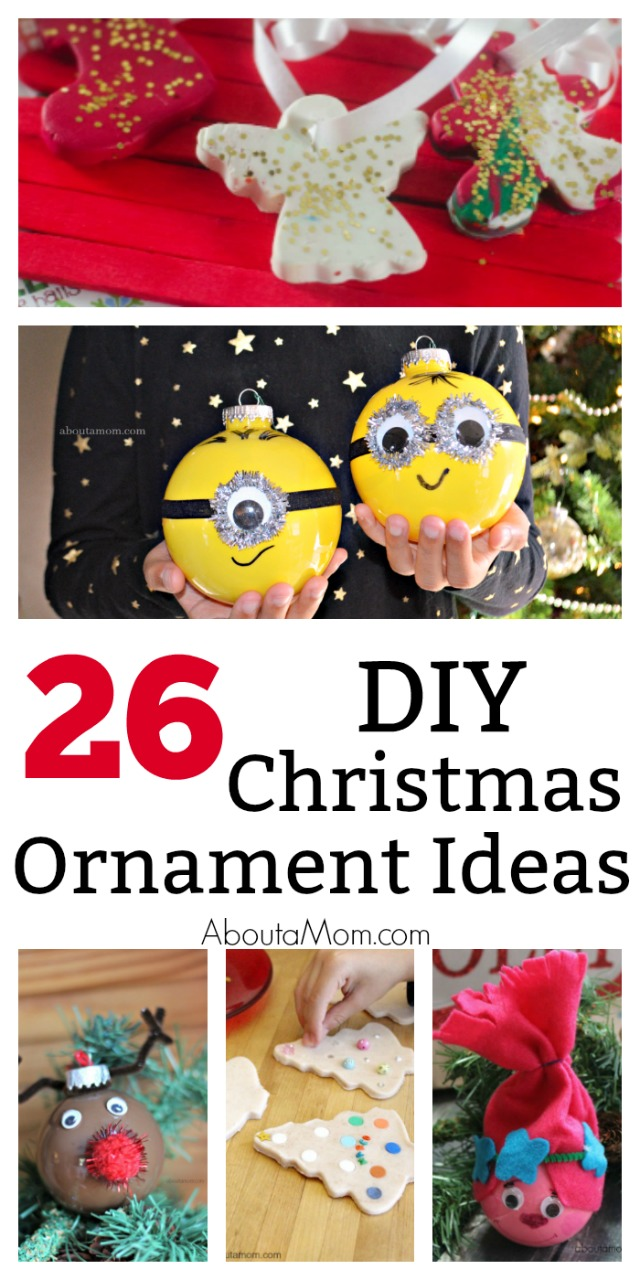 Making homemade ornaments is a nice Christmas tradition. DIY Christmas ornaments can be a fun time together as a family as well as creating wonderful Christmas memories. Handmade ornaments are also great for holiday gift giving.