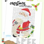 Free Christmas Printable – Santa Word Search