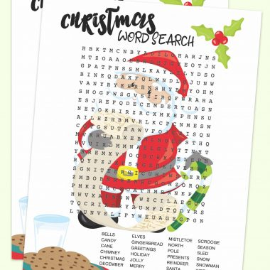 Looking for Christmas themed activities for your children ? Why not celebrate the Christmas season with this Santa Word Search. This free Christmas printable brings a little fun into your child's day and helps exercise their minds.
