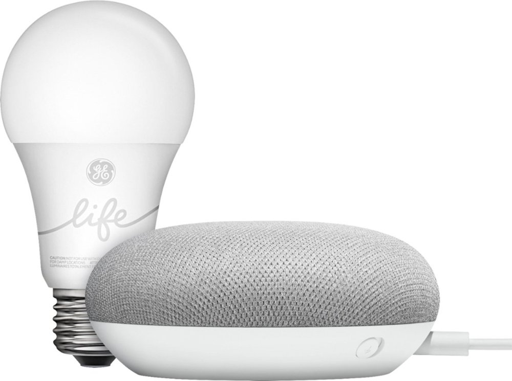Google Smart Light Starter Kit with Google Assistant - Smart Home Made Easy