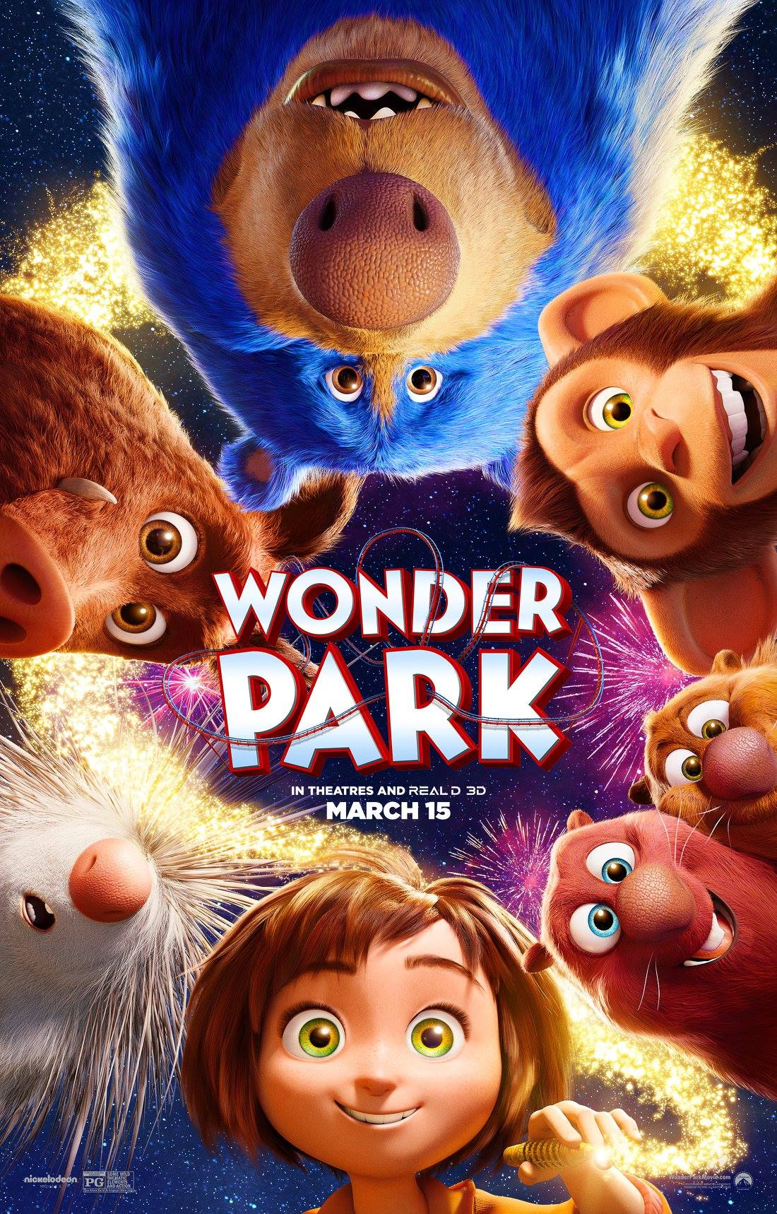 Experience the wonder of Wonder Park in theatres this Friday!