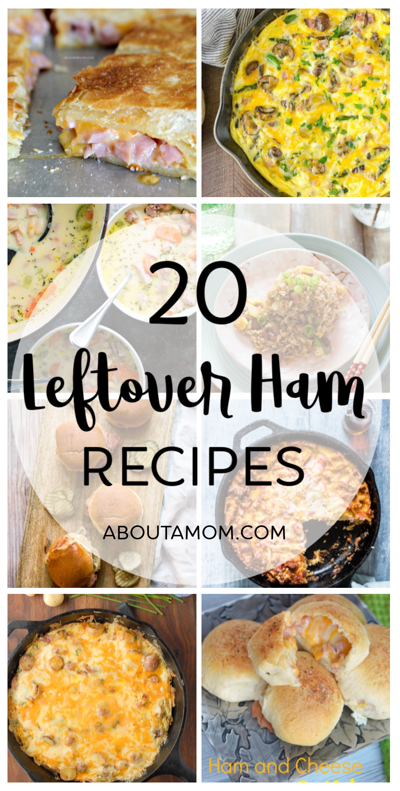 Not sure what to do with your leftover holiday ham? No worries. There are some terrific recipes that use leftover ham and I've rounded up some of the very best leftover ham recipes for you.