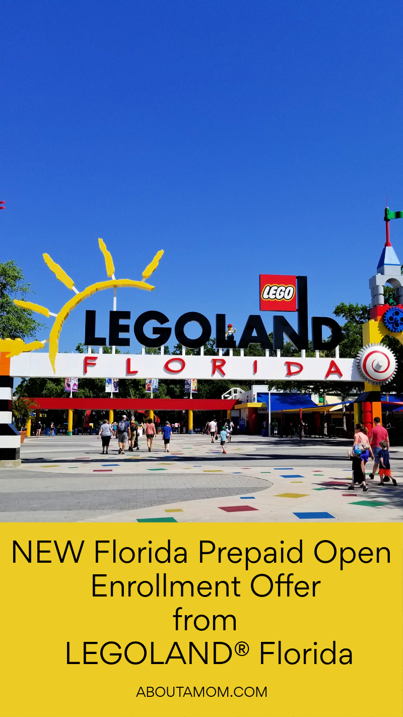 It's time to start building your child's future. Enroll in a Florida Prepaid plan this Open Enrollment season and your family can get 50% off LEGOLAND® Florida tickets!
