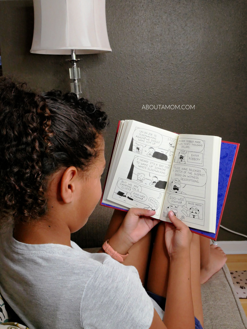 I have a fantastic new middle-grade book to share with you. If you're a Wimpy Kid fan, you will love the latest book from best-selling author, Jeff Kinney. The new book Diary of an Awesome Friendly Kid: Rowley Jefferson's Journal is in stores now.