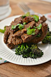Do you love beef and broccoli? Trying to stay on a low carb keto diet? Use this recipe for Keto Beef and Broccoli to have the food you crave and still stay on the Keto lifestyle. It's a delicious and easy Asian inspired stir-fry that will keep you feeling full and on track with your diet.