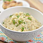 Love risotto but trying to live a Keto lifestyle? You need thisKeto Parmesan Cauliflower Risotto recipe. Just as tasty as risotto made from rice, this keto risotto recipe is made from cauliflower and is low in carbs. Perfect for a Keto or Low Carb Lifestyle.