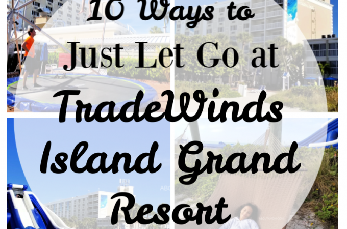 It's always nice when you can take a break from work, have a change of scenery, and see how carefree life can be. TradeWinds Island Grand Resort on St. Pete Beach is just the place to do that. Stay and relax, have some fun, make memories and reconnect with the people you love. Just let go.