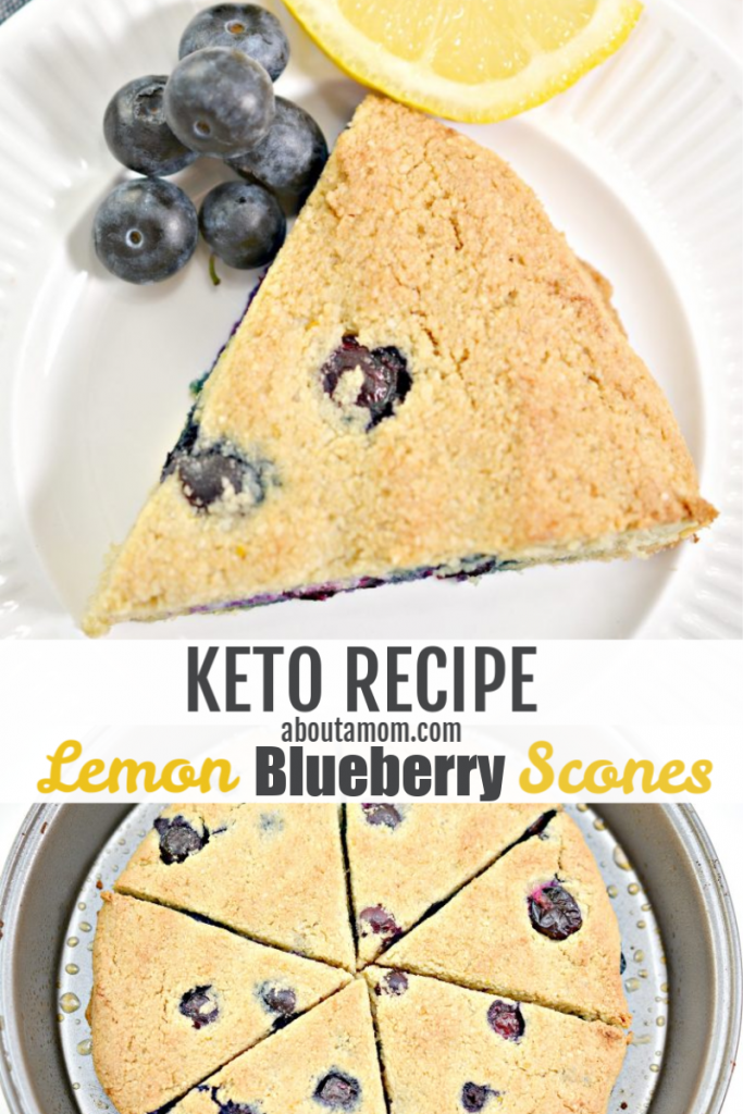 Love scones but following Keto? You will love this keto lemon blueberry scones recipe. That's right, I said keto scones! With this sweet tasting treat, you will love that you can enjoy this keto scones recipe and it is only 5 net carbs per serving.