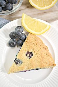 Love scones but following Keto? You will love this keto lemon blueberry scones recipe. With this sweet tasting treat, you will love that you can enjoy this keto scones recipe and it is only 5 net carbs per serving.
