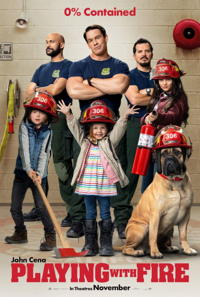 Looking for a great family-friendly movie? Watch the Playing with Fire movie trailer and read my John Cena interview. Playing with Fire is a live-action family-friendly comedy starring John Cena, Judy Greer, Keenan-Michael Key and some other truly talented people. The film follows an elite team of firefighters who meet their match when they rescue three siblings from an encroaching wildfire.